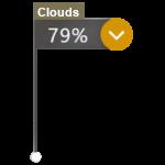 marca das nuvens
