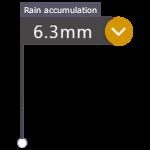 Rain radar mark