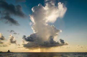 Rain with cloud