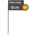 snow cover mark